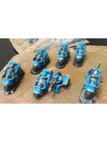Ultramarine Bike Squad with Assault Bike
