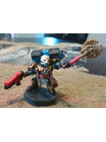 Ultramarine Jump Pack Chaplain (Metal)