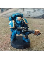 Ultramarine Space Marine w/ Flamer