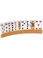 Curved 2PC Wood Card Holder