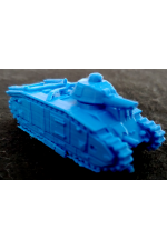 3D Printed French Char B1 Heavy Tank