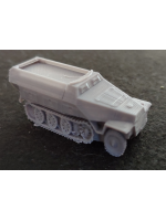 3D Printed German Sdkfz251D Halftrack