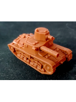 3D Printed Italian Carro Armato M11/39 Medium Tank