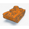 3D Printed Japanese Type 95 HaGo Light Tank